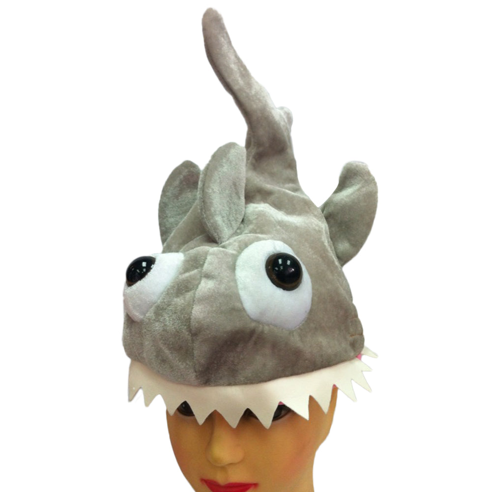 Funny Crazy Party Hats Piranha Cap Plant Beanie Halloween Festival Party Costume Hat