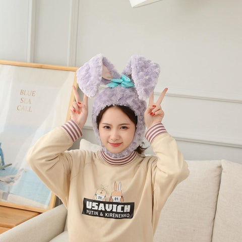 Easter Bunny Hat Cute Rabbit Ears Costume Funny Party Favors Hats Easter Decorations