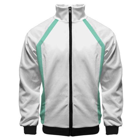 Anime Haikyuu!! Cosplay Jacket Aoba Johsai High School Volleyball Club Sportswear Costumes Coat