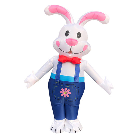 Adult Easter Rabbit Inflatable Costume Halloween Christmas Party Jumpsuit Annual Meeting Performance Dress