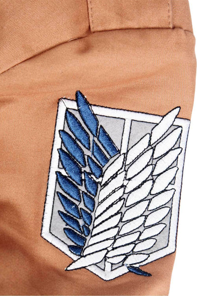 Unisex Anime Attack on Titan Recon Corps Jacket Coat Cosplay Costumes Coat Clothes