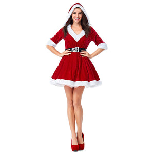 Women's Mrs. Claus Costume Christmas Santa Costume