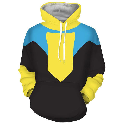 Anime Invincible Cosplay Hoodies Cartoon Harajuku Sweatshirt Graphic Hoody