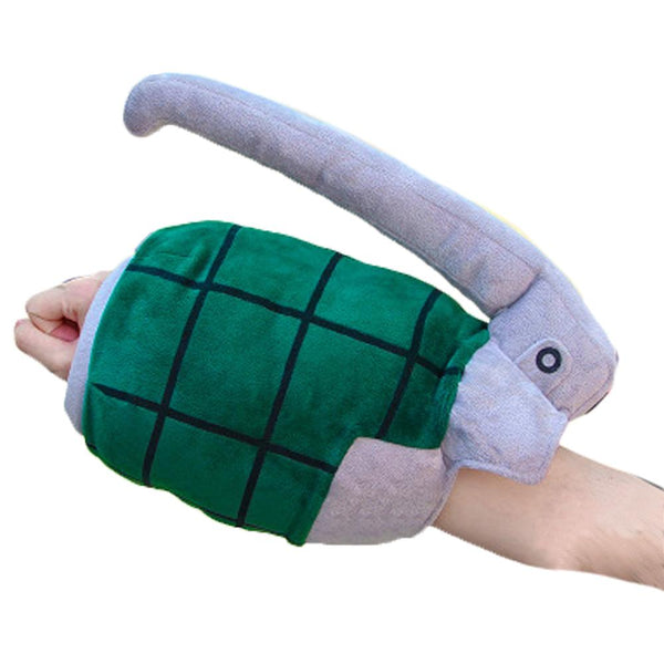 Anime My Hero Academia Plush Doll Toy Pillow Bakugou Katsuki Grenade Warm Hand Cos Stuffed