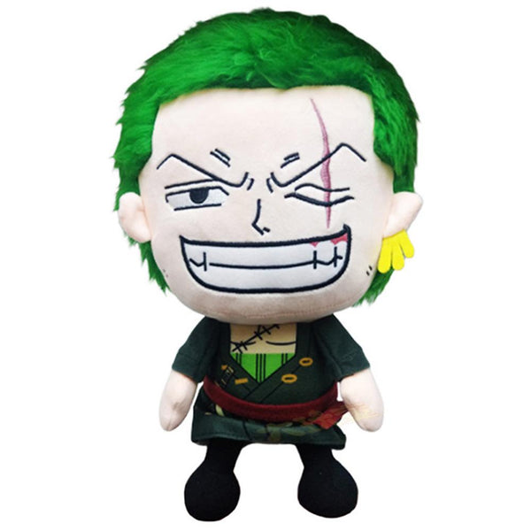 ONE PIECE Roronoa Zoro Cartoon Figure Plush Doll Soft Stuffed Toys Children Gift Toys Plush Toys