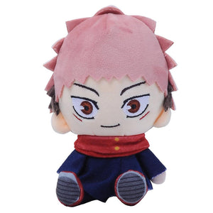 15cm Jujutsu Kaisen Yuji Itadori Cartoon Figure Plush Doll Soft Stuffed Toys Children Gift Toys Plush Toys