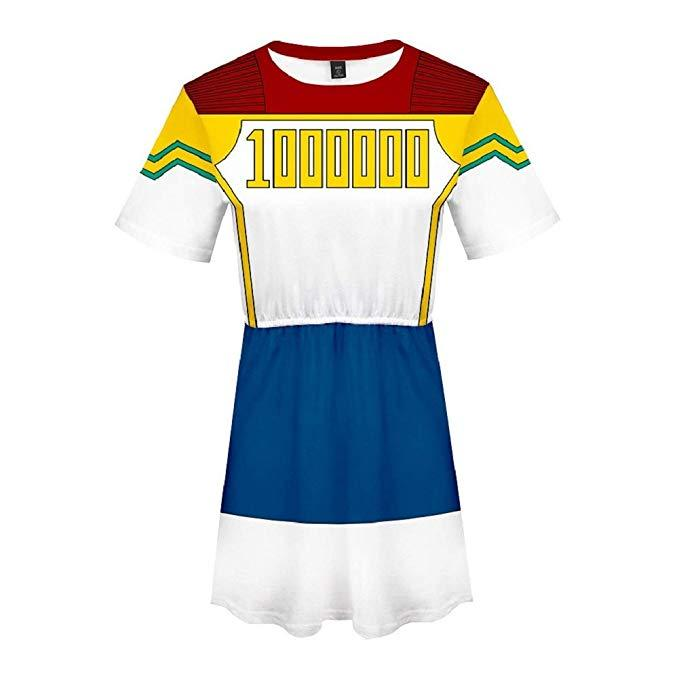 Boku No Hero My Hero Academia Skirt Million Dress Outfit
