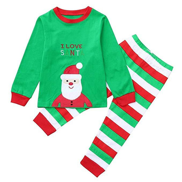 2PCS Toddler Baby Christmas Santa Claus Clothes
