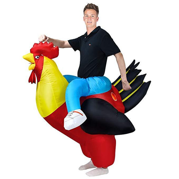 Adult Inflatable Rooster Costume For Halloween Rooster Cosplay