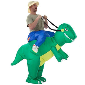 Inflatable Dinosaur T-REX Costume Halloween Costumes for Adults