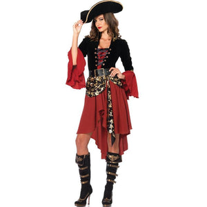 Women's Female Pirates Of The Caribbean Halloween Cosplay Costume