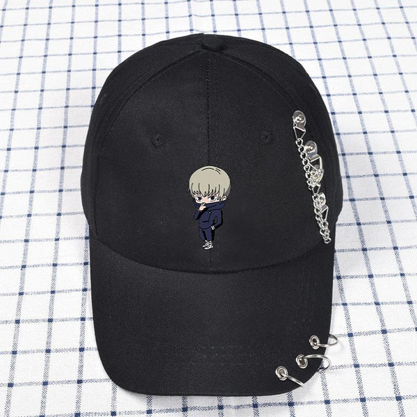 Anime Jujutsu Kaisen Funny Dad Hat Teens Baseball Cap Adjustable Caps Sunshade Hats