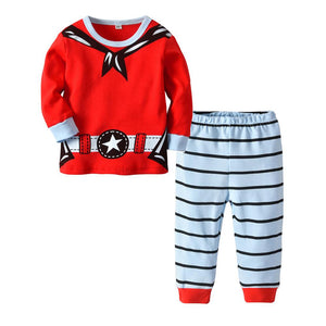 Baby Christmas Toddler 2pc Print Cotton Home Wear