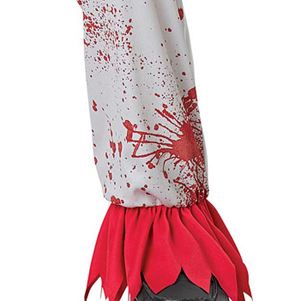 Halloween Boys Bloody Circus Costume Scary Clown Cosplay Costume