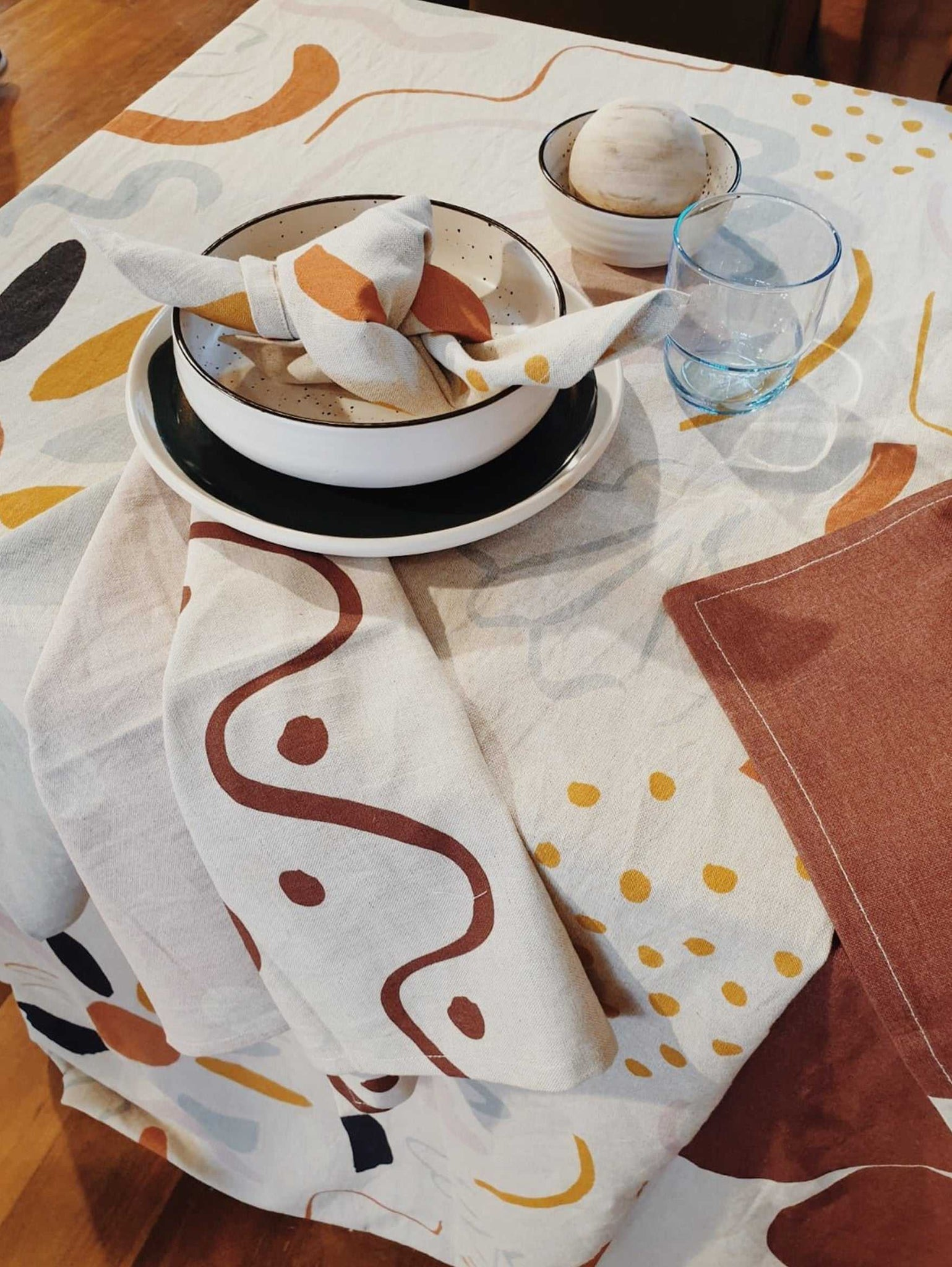 Low Tide Tablecloth  by Mosey Me