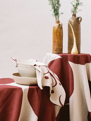 Whitewash Tea Towel  by Mosey Me