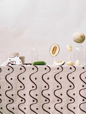Whitewash Tablecloth  by Mosey Me