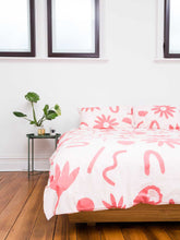 Load image into Gallery viewer, Floral Dreams Quilt Cover Ink & Musk