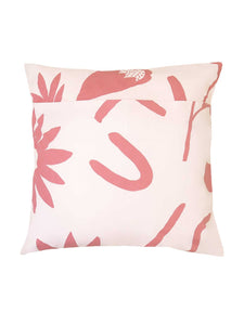 Floral Dreams EURO Pillowcase set Ink & Musk  by Mosey Me