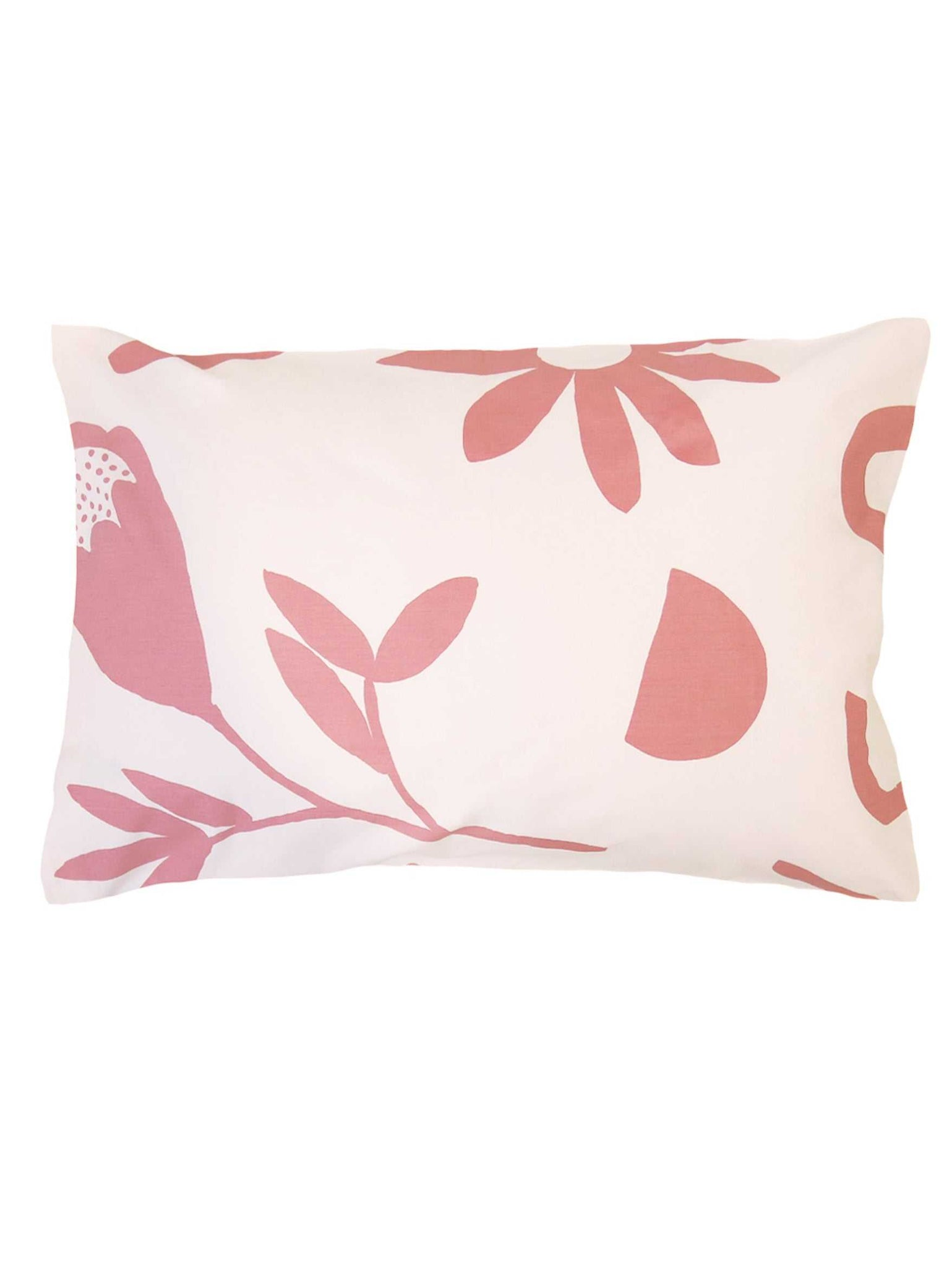 Floral Dreams Standard Pillowcase Set Ink & Musk  by Mosey Me