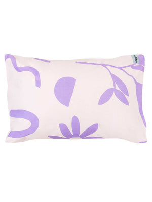 Floral Dreams Standard Pillowcase set Lavender & Mustard  by Mosey Me