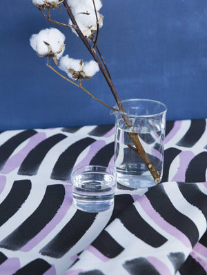 Zebra Tablecloth  by Mosey Me