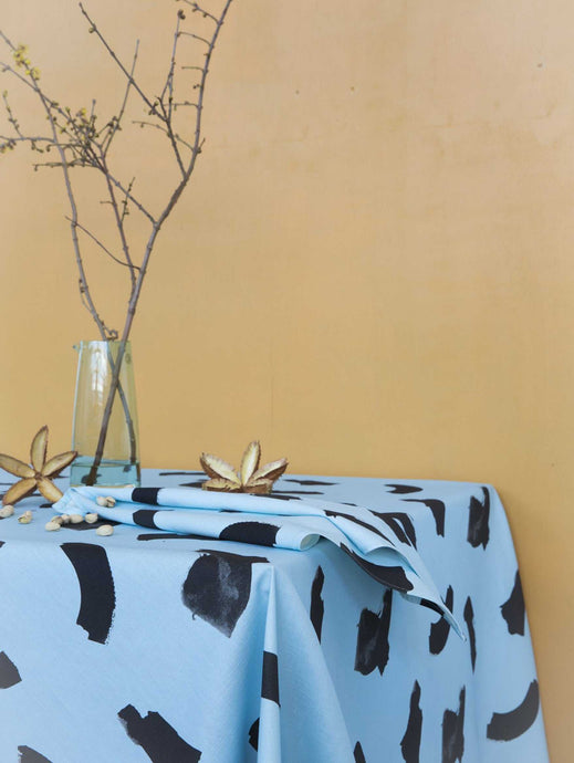 Blue Dreams Tablecloth  by Mosey Me