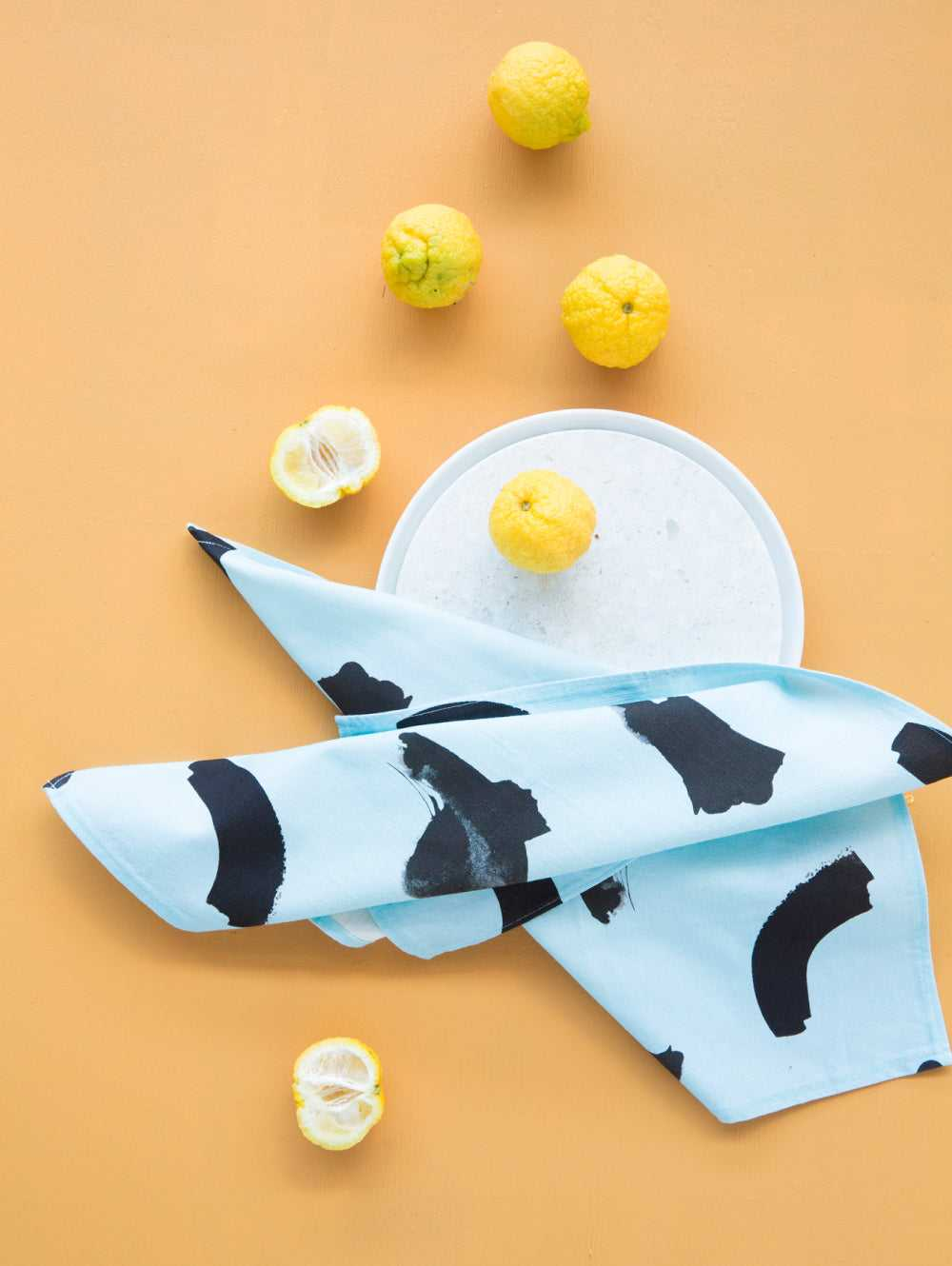 BLUE DREAMS NAPKIN SET  by Mosey Me