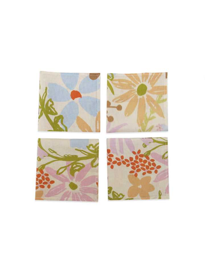 The Garden Linen Napkin Set  by Mosey Me