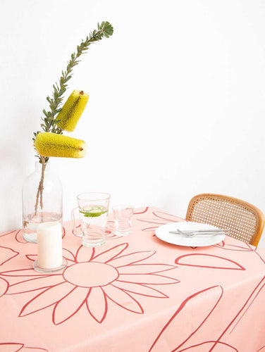 IN BLOOM TABLECLOTH  by Mosey Me