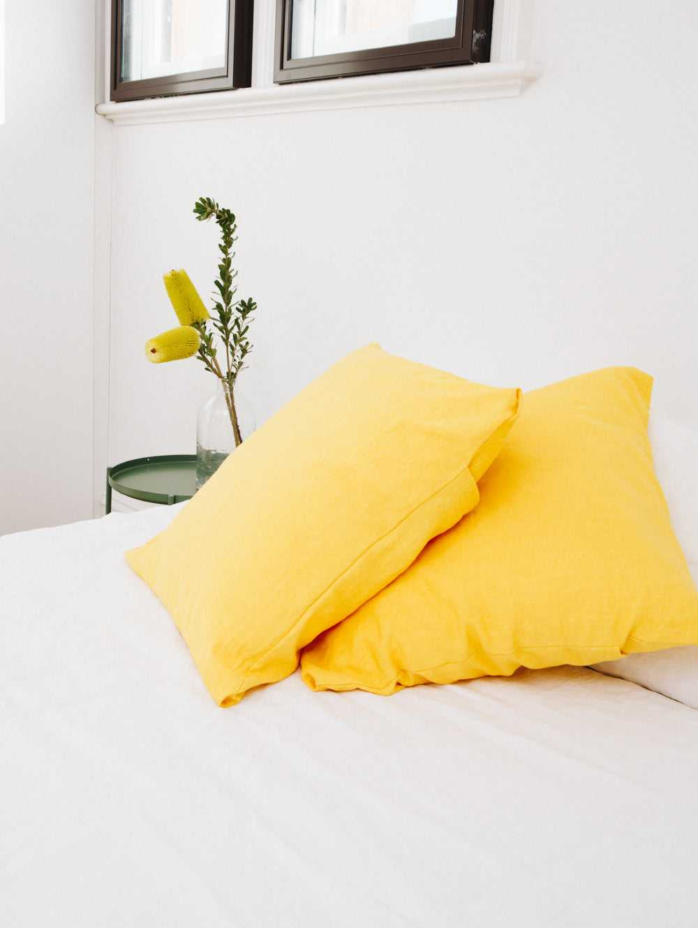 SINGLE EURO PILLOWCASE - SUNSHINE  by Mosey Me