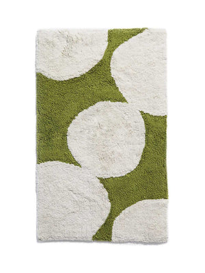Pebble Bath Mat in Olive  by Mosey Me