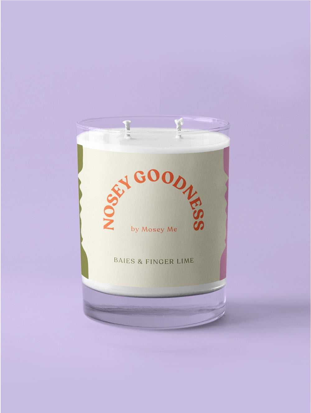 Nosey Goodness Candle  by Mosey Me