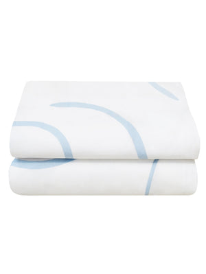 Salento Quilt Cover Set in Blue & Clay  by Mosey Me