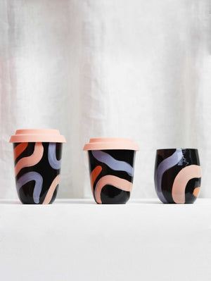 Arcadia x Mosey Tumbler - Black  by Mosey Me