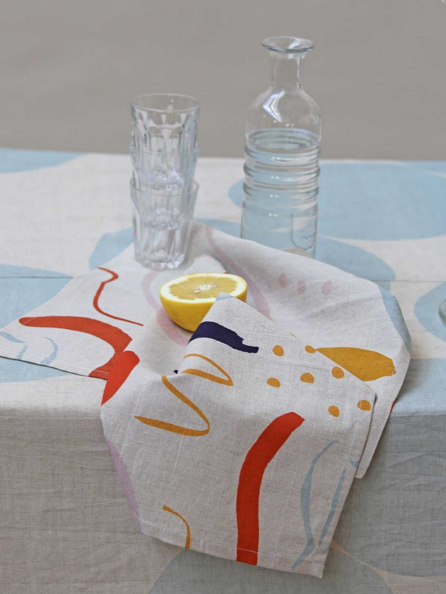 Low Tide Tea Towel  by Mosey Me