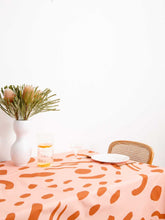 Load image into Gallery viewer, DOT DASH TABLECLOTH  by Mosey Me