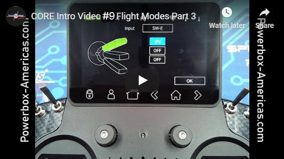 CORE Intro Video #9 Flight Modes Part 3