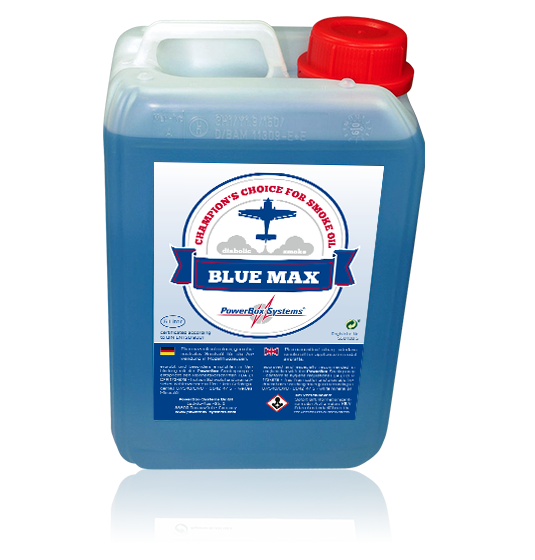 Smoke Oil Blue Max