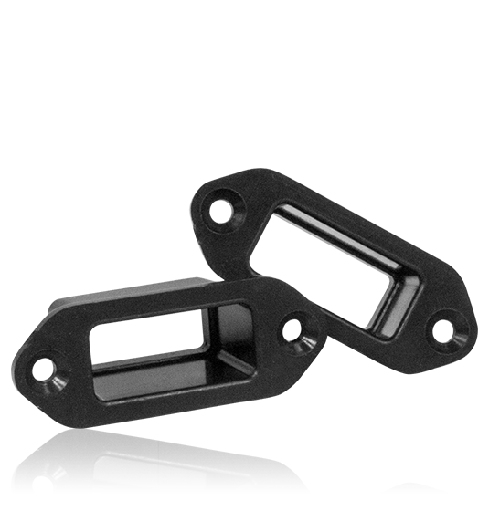 Mounting frame MPX female connector