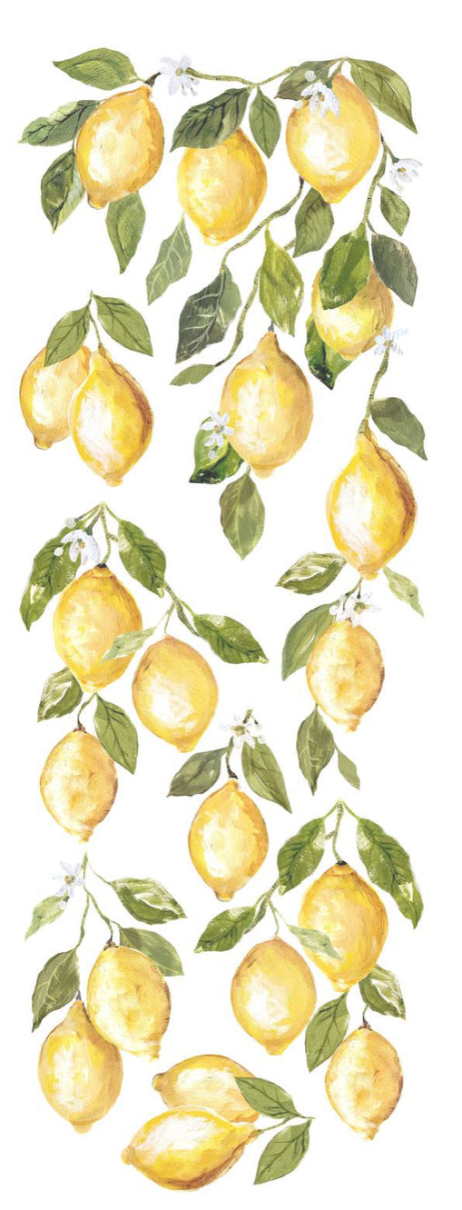 Lemon Drops, Transfer #22, DECOR TRANSFER, Iron Orchid Design