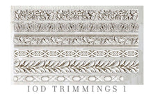 Load image into Gallery viewer, IOD Trimmings #2, 6 x 10 Decor Moulds