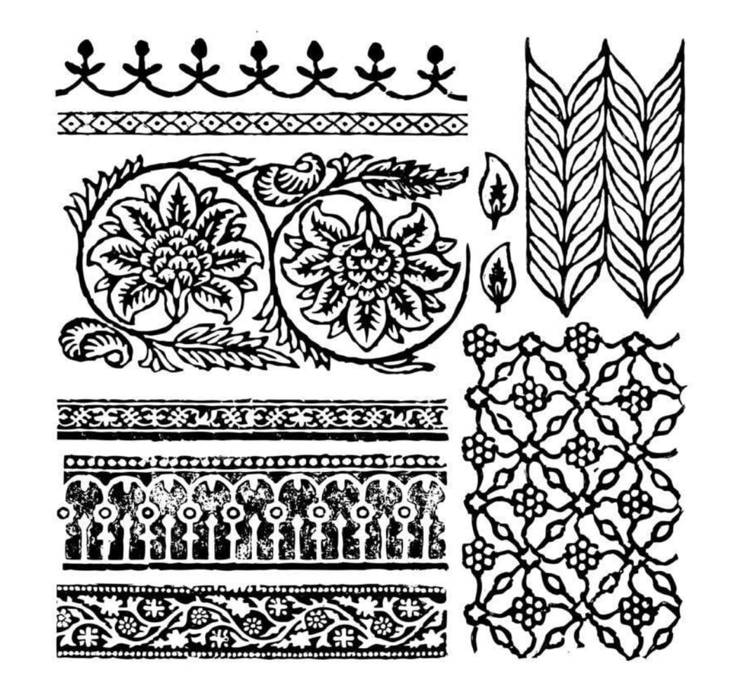 Bohemia Decor Stamp Iron Orchid Designs