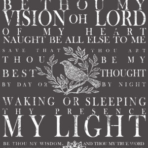 IOD / Be Thou My Vision 11x14 Decor Transfer