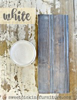 All Natural Beeswax /Clear, Black, Dark, White / Sweet Pickins Milk Paint