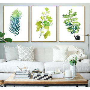 Evergreen Elevation™ Watercolor 3 Piece Art Canvas