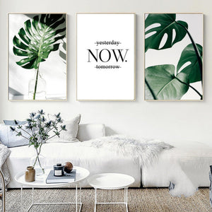 Flora Fern Art Canvas™
