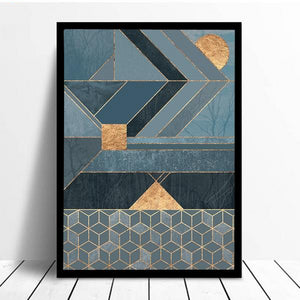 Arrow & Gold™ ART CANVAS