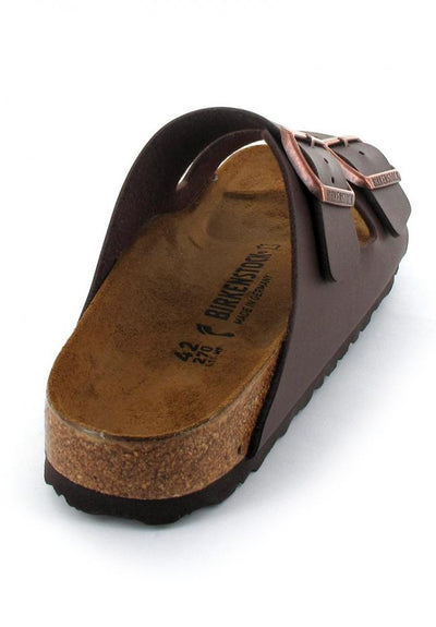 dark brown birkenstock-arizona-birko-flor-narrow back