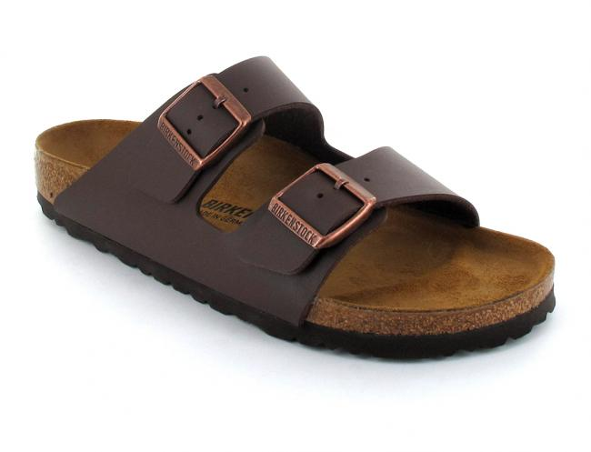 dark brown birkenstock-arizona-birko-flor-narrow